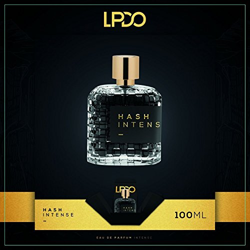 LPDO HASH INTENSE EAU DE PARFUM INTENSE 100ML PROFUMO EQUIVALENTE 'NASOMATTO BLACK AFGANO ' MADE IN FRANCE-ITALY