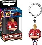 Funko Pop! Keychain: Marvel - Captain Marvel - Captain Marvel w/Helmet
