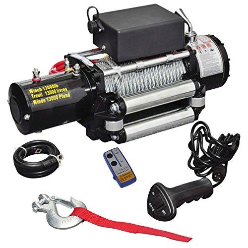 vidaXL 210022Elektrische Seilwinde 12V -