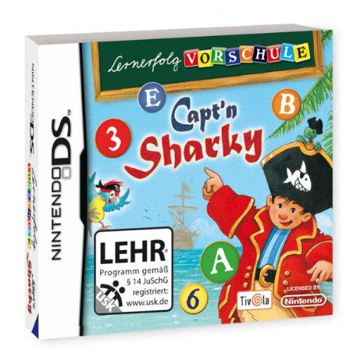 Lernerfolg Vorschule - Capt'n Sharky - Ds Wort-spiele Für Nintendo