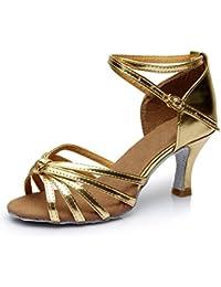 Colorfulworldstore - Zapatillas de danza para mujer, color multicolor, talla 35