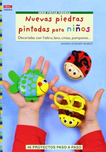 Crea Con Patrones. Serie Pintar Piedras Nº 2. Nuevas Piedras Pintadas Para Niños (Cp - Serie Pintar Piedras)