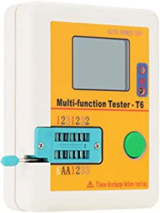 Kkmoon Lcr T6 Transistor Tester Multifunktions Lcd Hintergrundbeleuchtung Diode Triode Kapazität Widerstand Induktivität Mosfet Npn Pnp Triac Mos Detektor Baumarkt