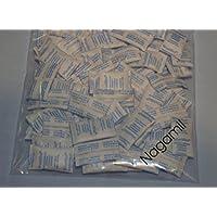 1.000 x Silicagel Beutel 1 g, Trockenmittel, staubdicht verpackt, regenerierbar