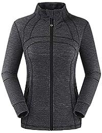 Skitor Pullover Deportivas Fitness Ciclismo Sweatshirt Otoño Casual  Elegante Sudaderas Mujer Manga Larga Color Puro Outerwear 79f99730963