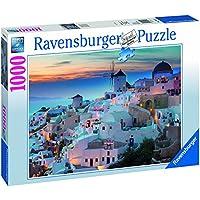 Ravensburger Italy 196111 - Puzzle Santorini, 1000 Pezzi, Multicolore