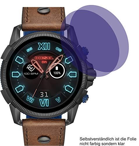 4ProTec 2X Crystal Clear klar Schutzfolie für Diesel On Full Guard 2.5 Displayschutzfolie Bildschirmschutzfolie Schutzhülle Displayschutz Displayfolie Folie