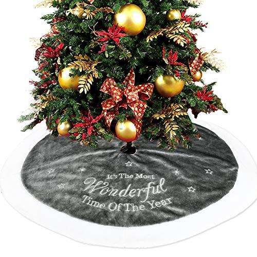 GZQ - Falda para árbol de Navidad, decoración, diseño de árbol de ...