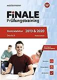 FiNALE Prüfungstraining Zentralabitur Niedersachsen: Deutsch 2019 und 2020