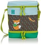Lässig Kinder Lunch-Bag Kühlboxtasche für Kindergarten oder Vorschule, isoliert, Little Tree Fox