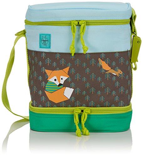 Lässig Kinder Lunch-Bag Kühlboxtasche für Kindergarten oder Vorschule, isoliert, Little Tree Fox (Fox Fur Bag)