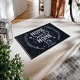 Wash&Dry 078975 Fußmatte Chalky Home, 50 x 75 cm