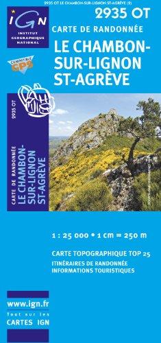 2935OT LE CHAMBON-SUR-LIGNON/ST-AGREVE