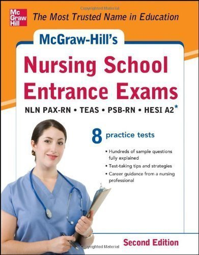 McGraw-Hills Nursing School Entrance Exams 2/E 2nd (second) Edition by Evangelist, Thomas, Orr, Tamra, Unrein, Judy published by McGraw-Hill (2012)