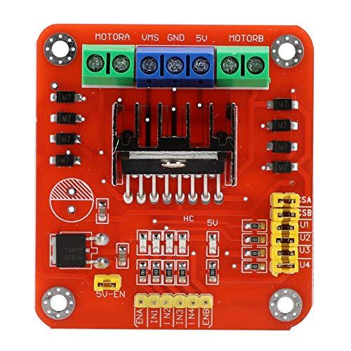 L298 Motor Módulo del Tablero del Controlador Robot Motor Paso a Paso 2 Canales 3-30V DC Motor