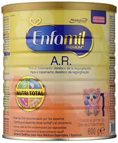 Enfamil Premium A.R.1 - Leche infantil anti regurgitación para bebés lactantes de 0 a 6 meses de edad