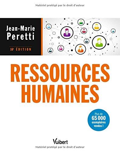 Ressources humaines - Label Fnege 2018 dans la catégorie Manuel par Jean-Marie Peretti