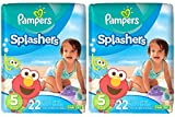 Pampers Splashers Disposable Swim Diapers, Size 5 - 44 Count