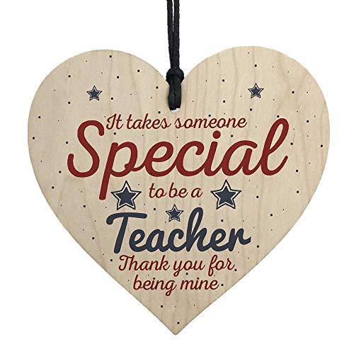 DIKHBJWQ Handgemachtes Tapete Hängendes Herz-Geschenk Wandbilder für den Lehrer, der Geschenk Vliestapete Verlässt, Danken Ihnen Tapeten Geschenke