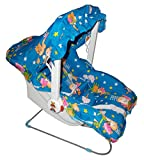 #5: 10 In 1 Baby Infants Toddler Carry Cot Converted Into Simply Carrying, Child Feeding, Sleeping, Turns into Rocker / Baby Chair / Bath Tub, With Safety Net for Mosquito, Outdoor Sun protection, Bouncer, Hanging Swing with High Durable Quality Rope Extra Comfort for your Baby + Free Teddy Bear