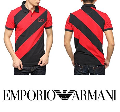 T-shirt uomo EA7 EMPORIO ARMANI, polo in piquet, art: 273940 6P601 (xxx-large, foto)