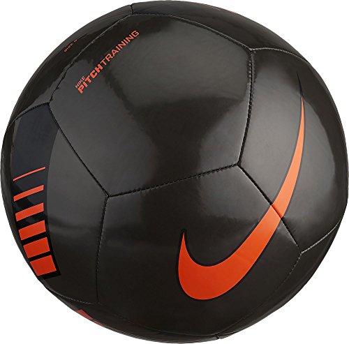 Nike Unisex Erwachsene NK Ptch Train Ball, Schwarz (Metallic Black/Total Orange/008), Gr. 4 -