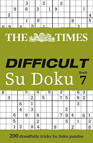 The Times Difficult Su Doku Book 7 por The Times Mind Games