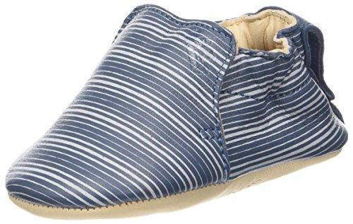 Easy Peasy Blumoo Petale, Zapatillas de Estar por Casa para Bebés, Amarillo (Poussin/Argent 341), 6-12 Mois