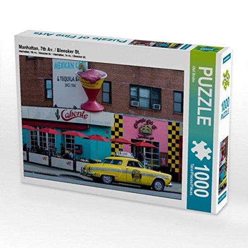 Manhattan, 7th Av. / Bleecker St. 1000 Teile Puzzle quer