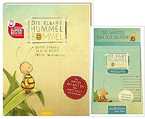 Die kleine Hummel Bommel: Du bist du! Gebundene Ausgabe + DisplaySo groß bin ich schon Die Baby Hummel Bommel. Messlatte: mit 10 Ex.