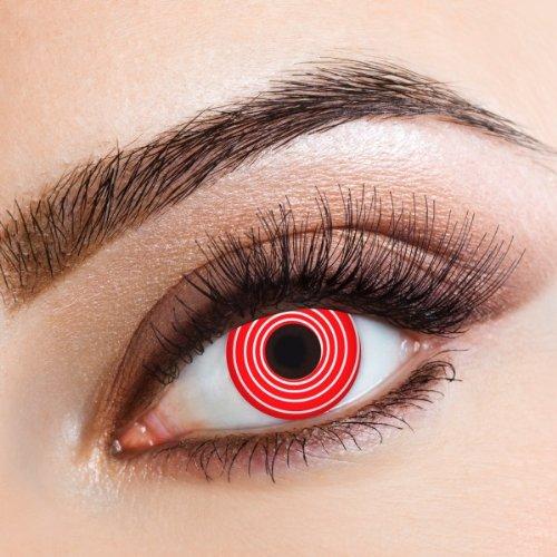 farbige Kontaktlinsen für Freizeit Party Halloween Karneval ()