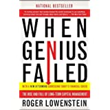 When Genius Failed: The Rise and Fall of Long-Term Capital Management by Roger Lowenstein (2001-10-09)