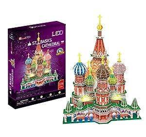 Cubic Fun- Puzzle 3D Catedral de San Basilio LED (771L519)
