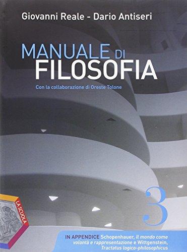 Manuale di filosofia. Ediz. plus. Per i Licei. Con e-book. Con espansione online: 3