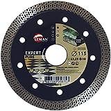 Leman 980115–Disque diamant pour porcelánico Extra Fin Diamètre 115mm)