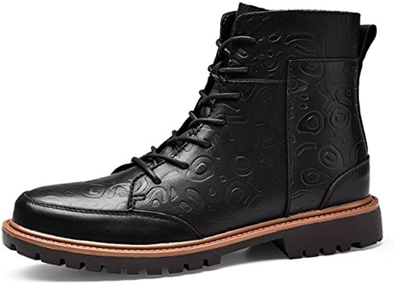 TMKOO Neue Martin Stiefel Stiefel Warme Männer Baumwolle Stiefel Trend Männlich 38 47 Ritter Schuhe MännlicheTMKOO Stiefel Baumwolle Männlich Männliche