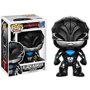 Power Rangers Figura Vinilo Black Ranger 396 Figura de coleccin