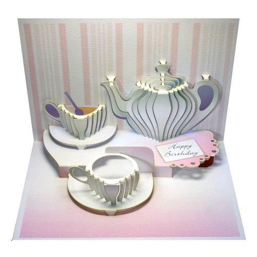 Birthday Teatime - Pop-up Card