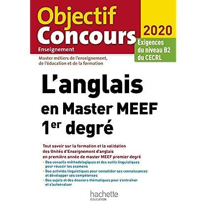 L'anglais en Master MEEF 1er degré : Exigences du niveau B2 du CECRL