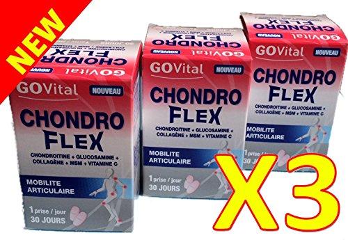 urgo-govital-chondro-flex-chondroitine-glucosamine-collagne-msm-vit-c-trois-mois-de-traitement-lot-d