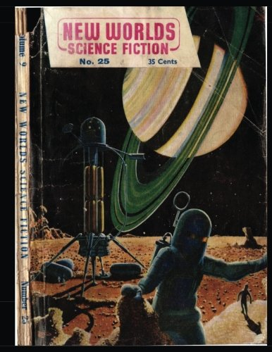 New Worlds Vol. 9 #25: Golden Age Pulp Science Fiction Magazine 1954 -