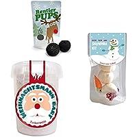 Liebeskummerpillen - Set aus Snowman Kit (19 g), Weihnachtsmannbart (30 g) und Rentierpupsen (18 g)