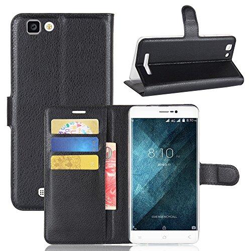Frlife Custodia Blackview A8 Max, Custodia Portafoglio in pu Pelle, Portafoglio Cover con Porta Carte, Funzione Stand, Chiusura Magnetica per Blackview A8 Max Smartphone