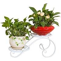 FuweiEncore Étagère à Fleurs Supports avec 4 Niveaux Multi-Couche Supports  Fleurs de présentation Anti fb1b41cda2a