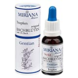 MirianaFlowers Gentian 20ml Bachblüten Stockbottle