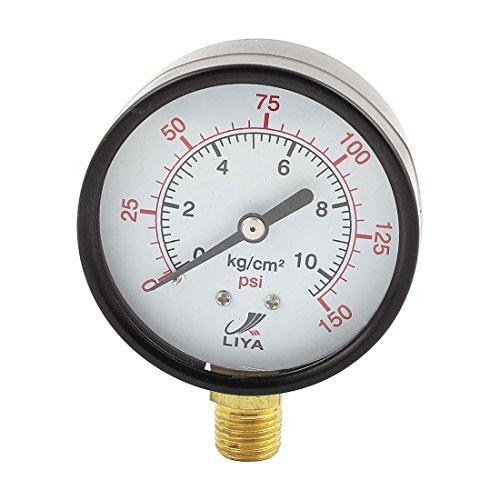 0-150 Psi 1.27 cm) Durchmesser, abgestufte Dial Luftdruckprüfer