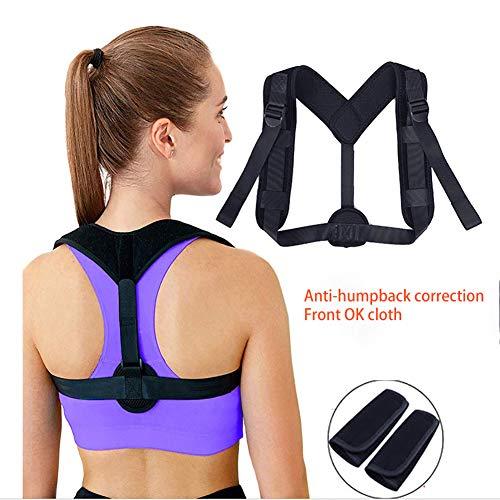 BLTX Geradehalter zur Haltungskorrektur für eine Gesunde Haltung Rückenstütze, Haltungstrainer für Damen und Herren - ideal zur Therapie gegen Rücken und Schulterschmerzen