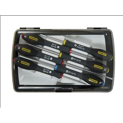 Stanley 0-65-492 - Juego 6 destornilladores de precisión FatMax