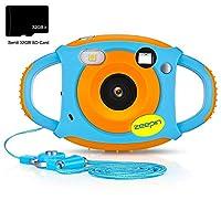 zeepin Cámara para niños, cámara Digital 1080P HD Recargable a Prueba de...