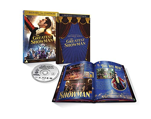 The Greatest Showman Limited Edition Book & Blu-ray [2018]